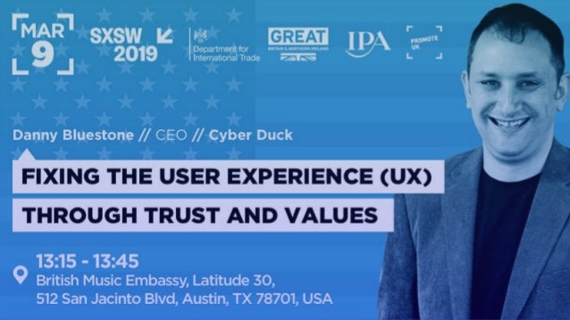Hello, we are FIXING USER EXPERIENCE THROUGH TRUST