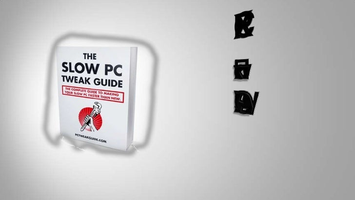 Fix PC:<br />How to Fix<br />A SLOW PC<br />