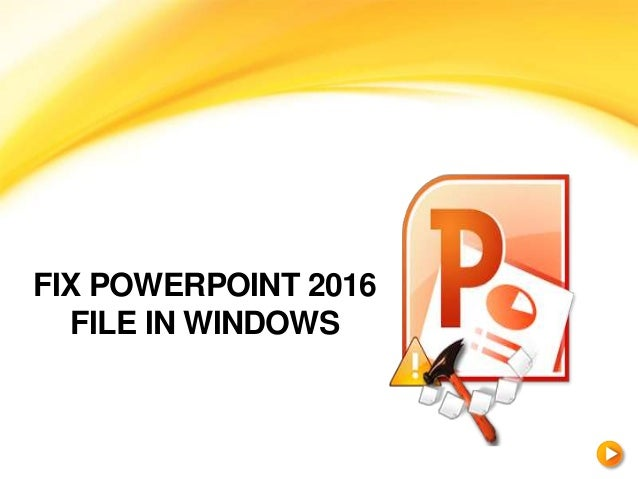 how to fix images are corrupted in powerpoint