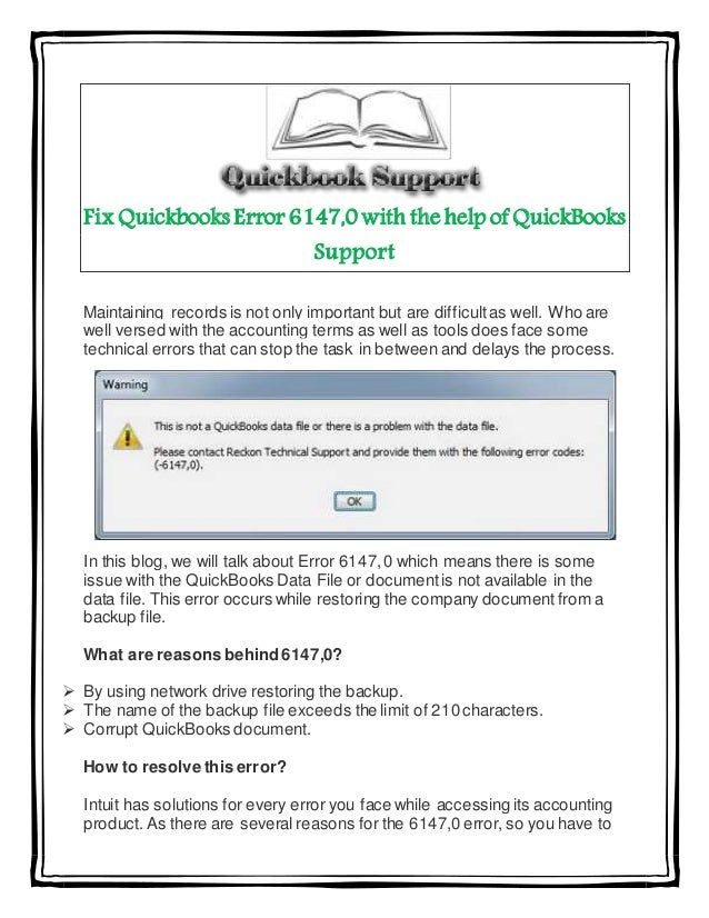 We provide various ways to fix QuickBooks Error 5502 When you
