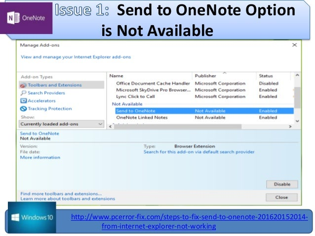 Internet explorer add on onenote livebookings us