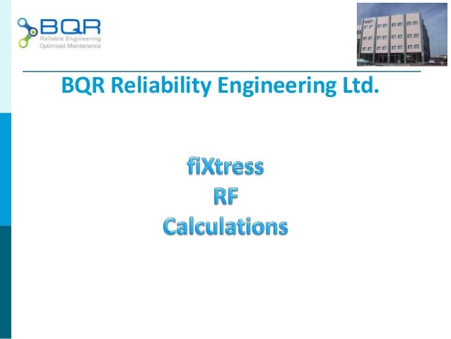 BQR Reliability Engineering Ltd.