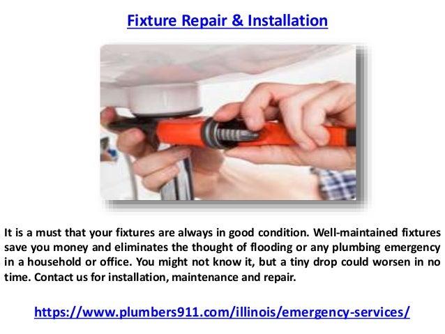 Fixture repair &