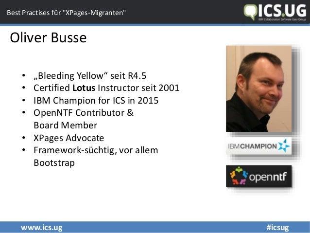 "Fix & fertig: Best Practises für ""XPages-Migranten"" Slide 2"