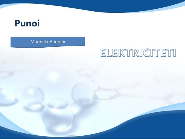 Projekt Fizik - Elektriciteti Slide 2