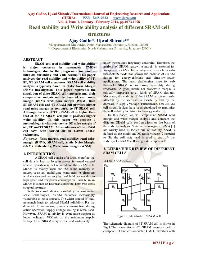 Ajay Gadhe, Ujwal Shirode / International Journal of Engineering Research and Applications                       (IJERA)  ...
