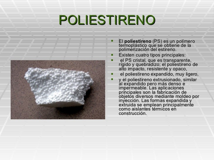 Polimeros artificiales - Mejores aislantes termicos ...