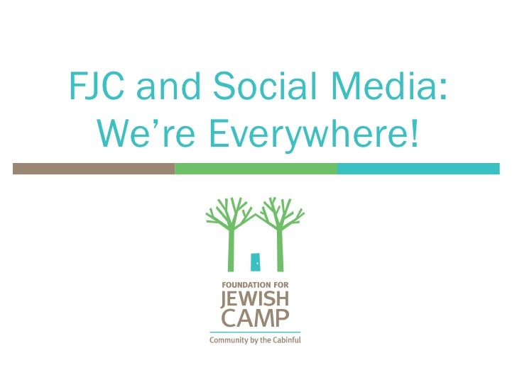 FJC and Social Media: We're Everywhere!