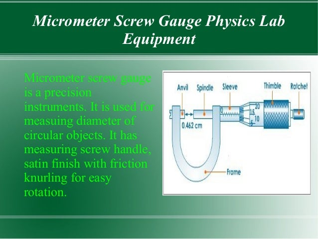 Worksheet Basic Physics Laboratory Equipment physics lab equipment and their uses 4 micrometer screw gauge equipment