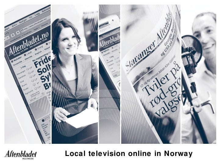 Local television online in Norway
