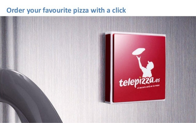 Order your favourite pizza with a click