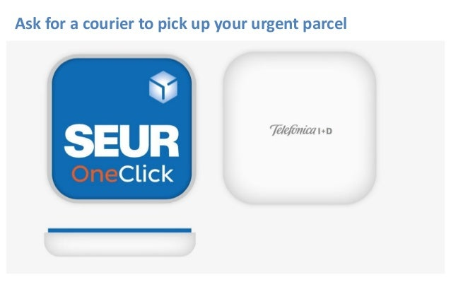 Ask for a courier to pick up your urgent parcel