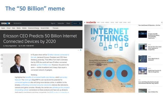 "The ""50 Billion"" meme"