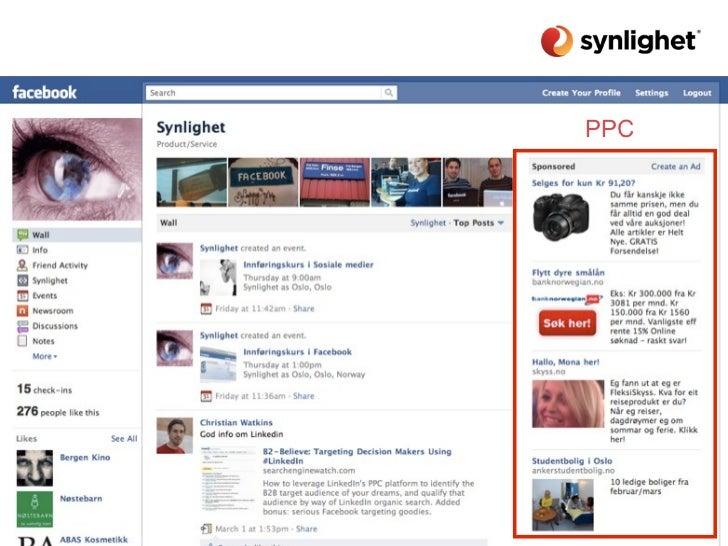 TemaMin egen historieBruk av LinkedIn (+ Finn.no)Bruk av Blogg (+ twitter)Bruk av FacebookFinne de øvrige kanalen(e) som p...
