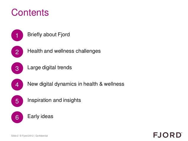 Health & Wellness insight Slide 2