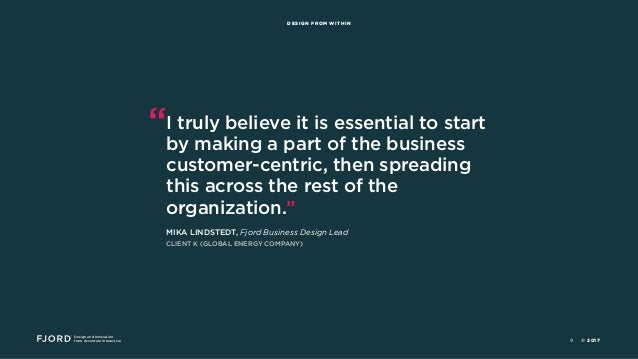 """Design and Innovation from Accenture Interactive DESIGN FROM WITHIN """"I truly believe it is essential to start by making a ..."""