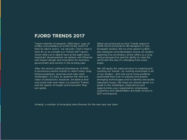 Fjord Trends 2017  Slide 2