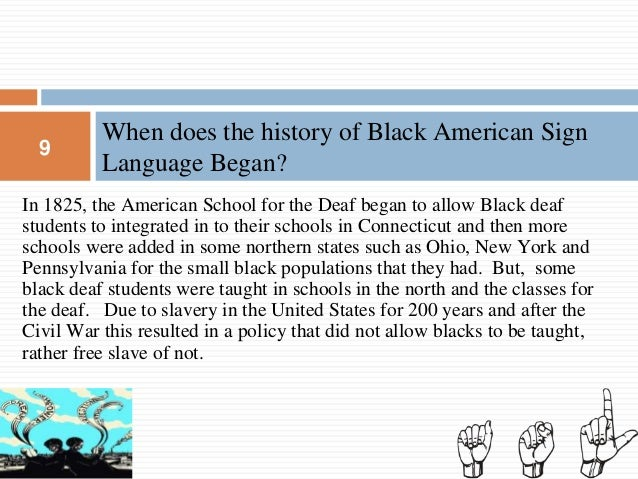 Black American Sign Language