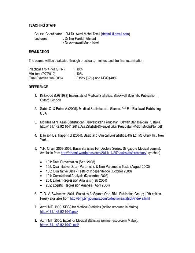 Studyguide Basic Stats 2013 Slide 2