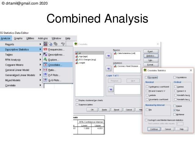 © drtamil@gmail.com 2020 Combined Analysis