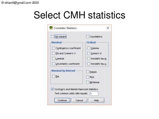 © drtamil@gmail.com 2020 Select CMH statistics