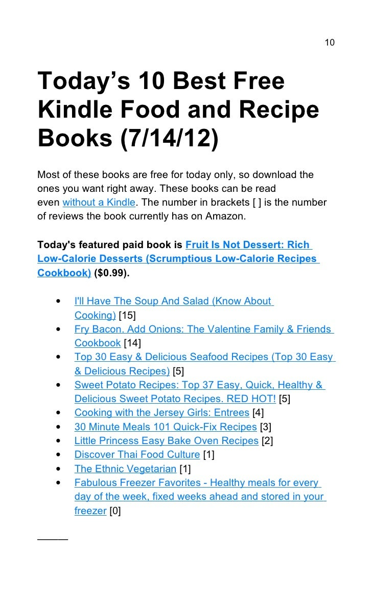 Today's 107 Best Free Kindle Books (7/14/12)