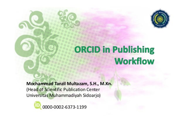 Mochammad Tanzil Multazam, S.H., M.Kn. (Head of Scientific Publication Center Universitas Muhammadiyah Sidoarjo) 0000-0002...