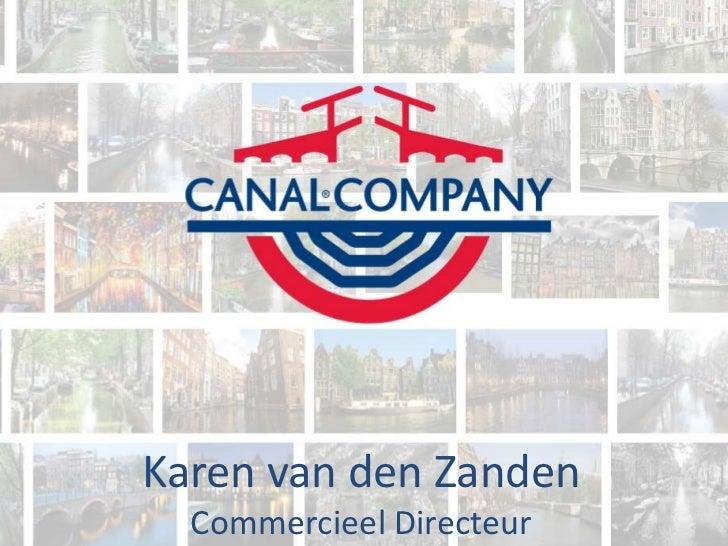 Karen van den Zanden  Commercieel Directeur