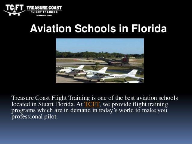 Treasure Coast Flight Training is one of the best aviation schools located in Stuart Florida. At TCFT, we provide flight t...