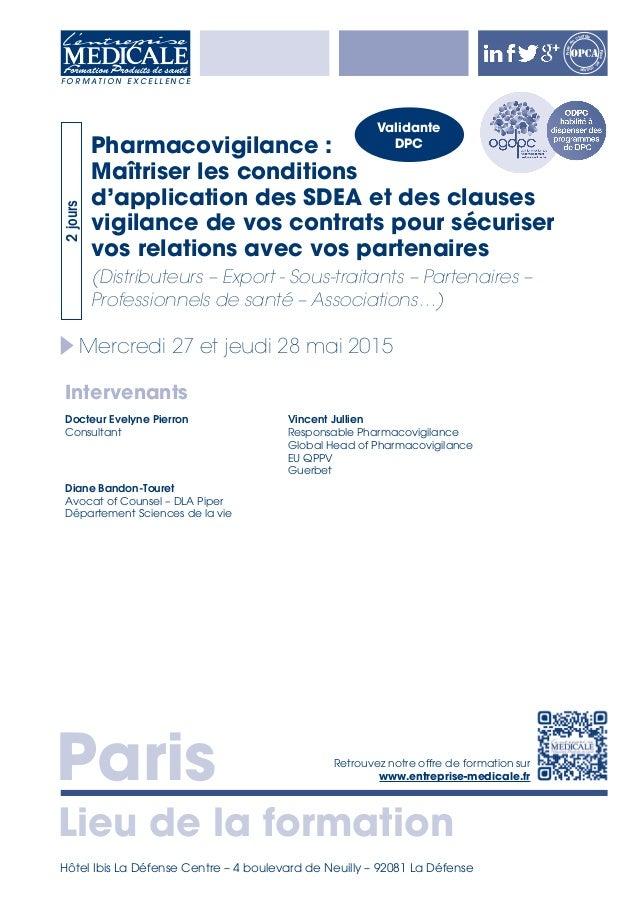 Paris Lieu de la formation Retrouvez notre offre de formation sur www.entreprise-medicale.fr F O R M A T I O N E X C E L L...