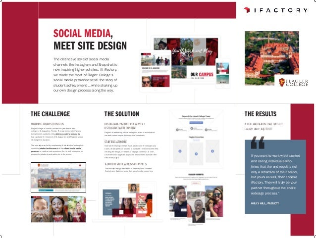 SOCIAL MEDIA, MEET SITE DESIGN The distinctive style of social media channels like Instagram and Snapchat is now inspiring...