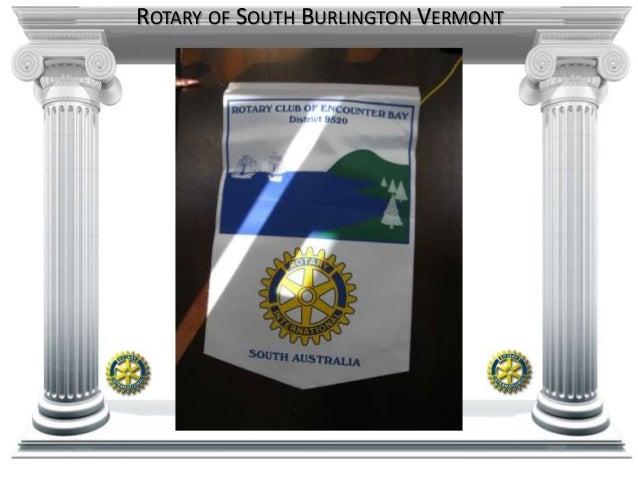 ROTARY OF SOUTH BURLINGTON VERMONT