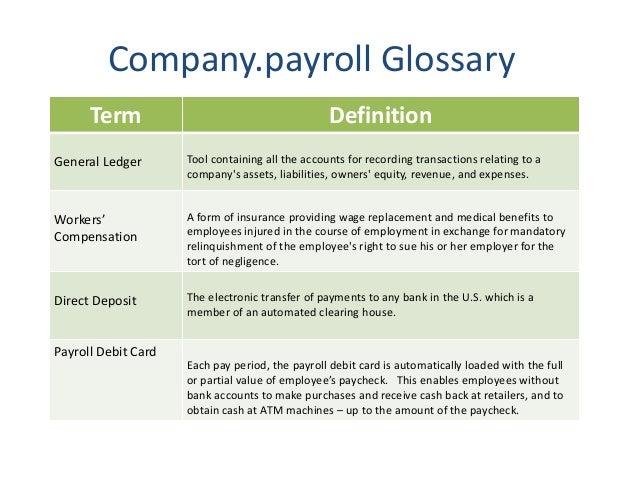 Flagship payroll