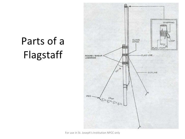 Flagstaff erection
