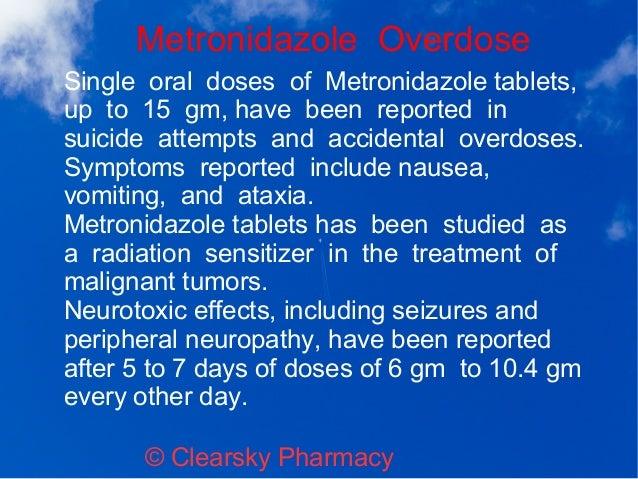 Flagyl Metronidazole Tablets