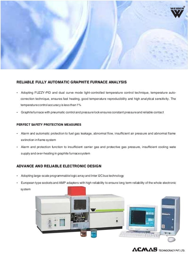 Flame Graphite Furnace Atomic Absorption Spectrophotometer