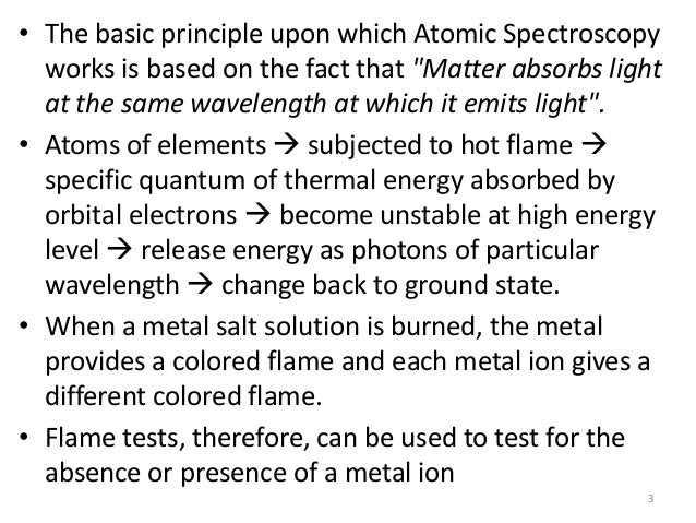 flame test providing support for quantized energy levels An example of particle spectroscopy is a surface analysis technique known as electron energy loss spectroscopy (eels) that quantized energy levels flame or an.
