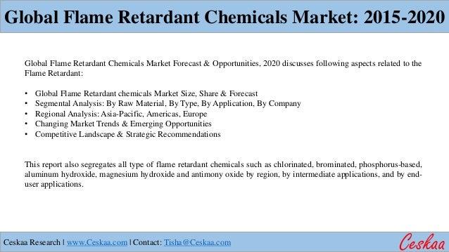 Flame Retardant Chemical Market to reach $9.8 billion by 2020