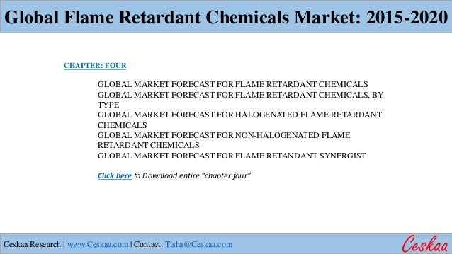 market brominated flame retardants Brominated flame retardants are chemicals that reduce the spread of fire in a  variety of common products  pbdes in 1999, accounting for half the world  market.