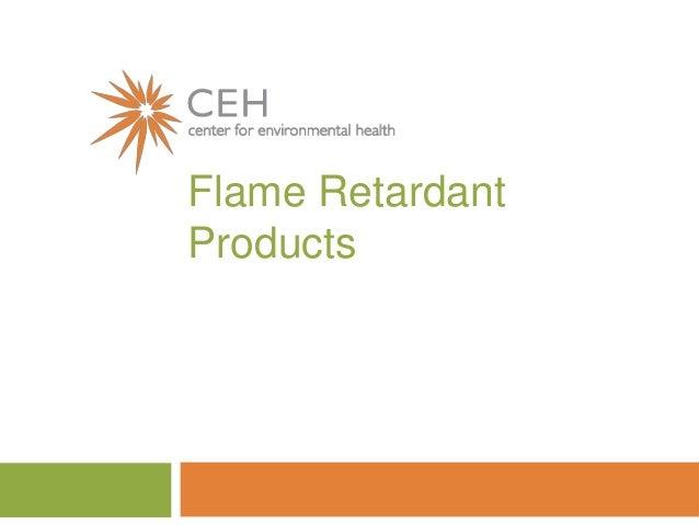 Flame RetardantProducts