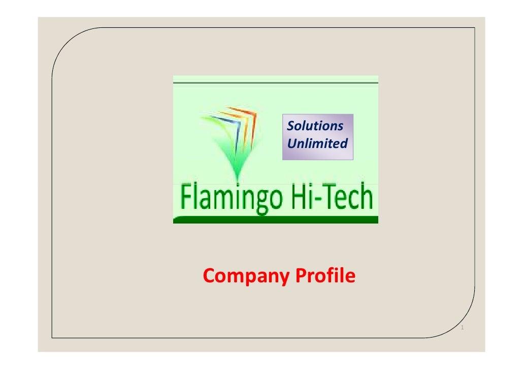 Solutions        UnlimitedCompany Profile                    1