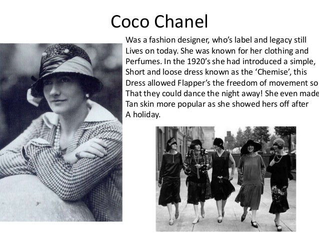 Coco Chanel Fashion Designs 1920 The Art Of Mike Mignola
