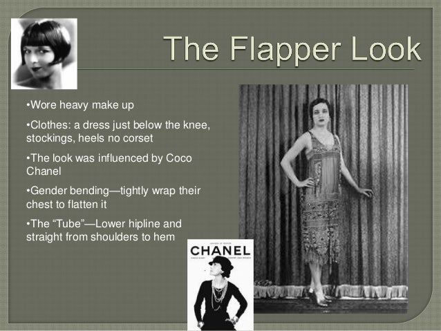 flappers in the 1920 s