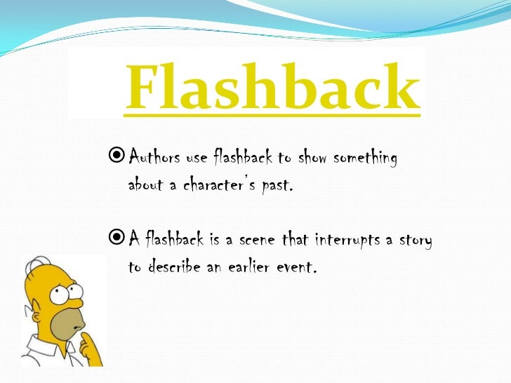 Flashback essay