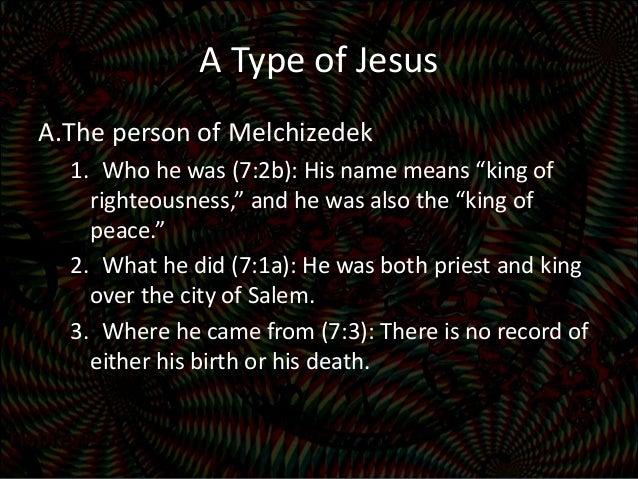 Birth Of Melchizedek