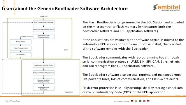What is Flash bootloader software