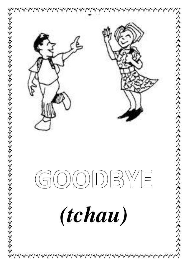 Flashcards greetings