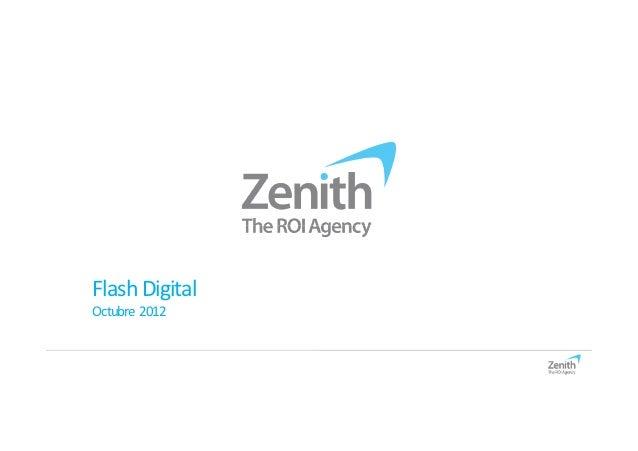 Flash DigitalOctubre 2012