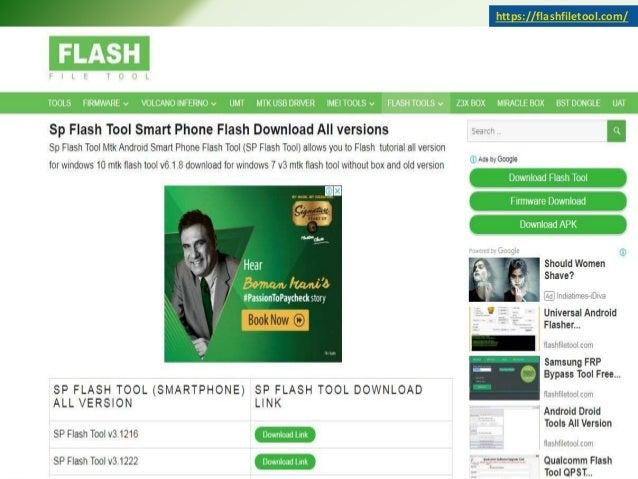 SP Flash Tool - Flash File Tool