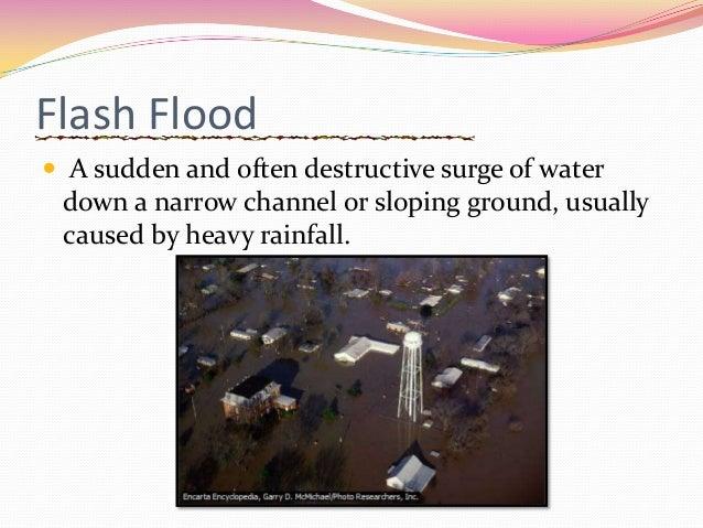 causes of flash floods pdf